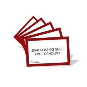 Samtalekort til par