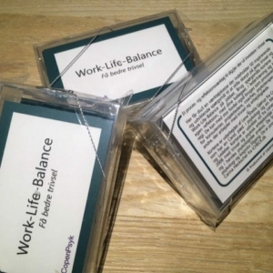 Dialogkort til work-life balance